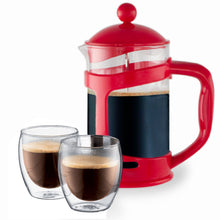 Load image into Gallery viewer, 28 Oz.French Press Coffee Tea Maker with Stainless Steel Filter