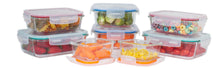 Load image into Gallery viewer, [16 Pcs Set] Glass Storage Containers with Lids/Glass Food Storage Containers Airtight/Glass Containers With Lids - Glass Meal Prep Containers Glass Food Containers - Glass Lunch Containers