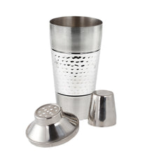 Load image into Gallery viewer, Stainless Steel Cocktail Mixer - Tornado Cocktail Shaker with Jigger Cap and Strainer - 25 Oz