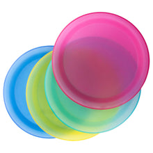 Load image into Gallery viewer, Colorful Sturdy Reusable Dinner Plates - Party BPA - Free Plastic Plates