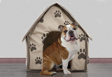 Load image into Gallery viewer, Portable Decorative Comfortable Soft Sided Indoor Collapsible Dog House