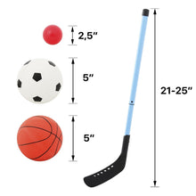 Load image into Gallery viewer, 3 in 1 Arcade Kids Game Center - Basketball Soccer & Hockey Kid Sport Game Set