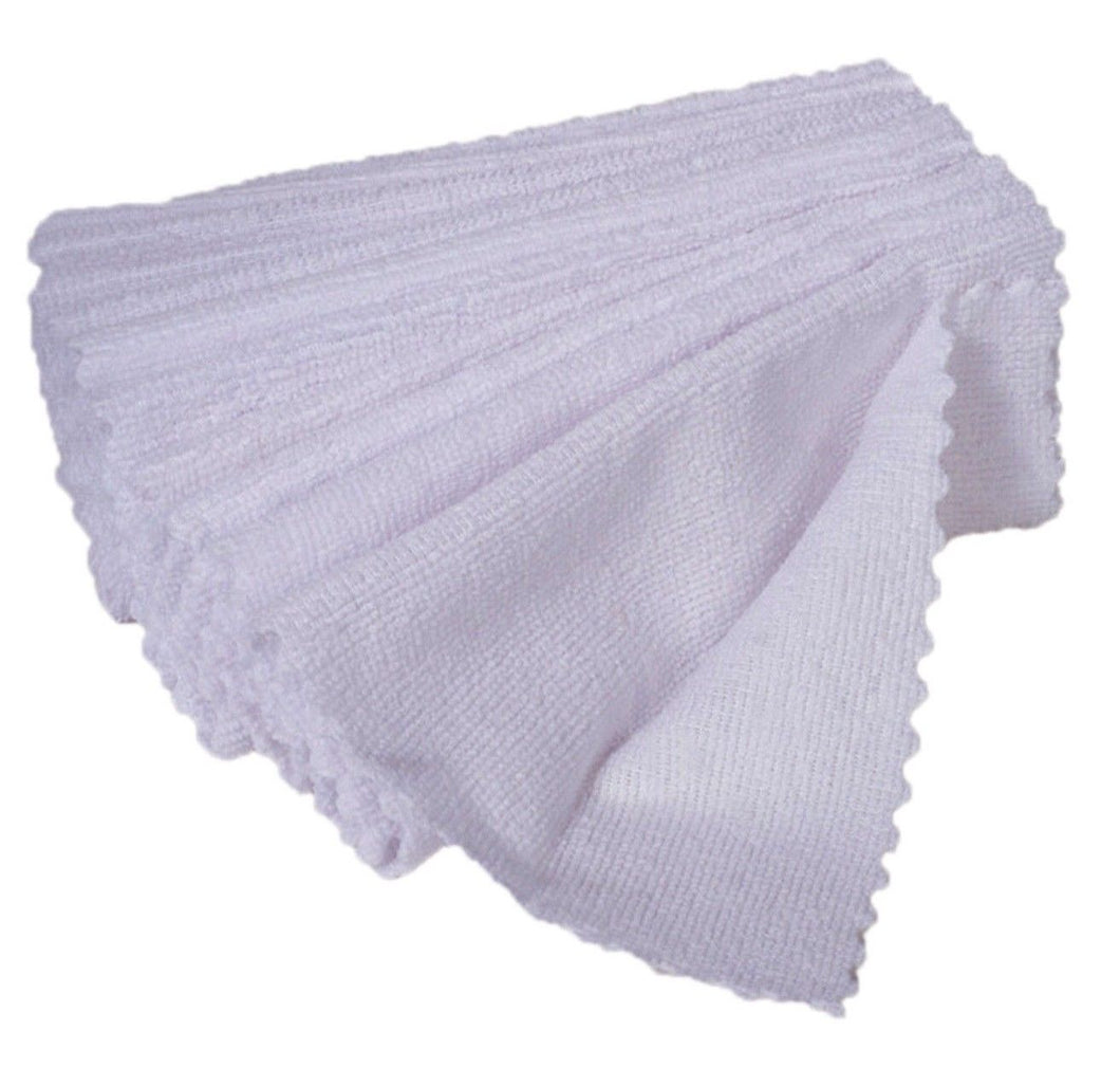 48 Pack Microfiber Cleaning Cloth No-Scratch Rag Car Polishing Detailing Towel