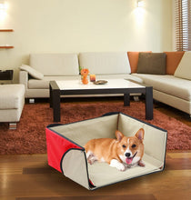 Load image into Gallery viewer, Convertible 4 in 1 Pet Bed House Cozy Lounge Mat - Cat Dog Portable House