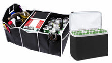 Load image into Gallery viewer, 2 in 1 Trunk Organizer & Cooler Set - Fully Collapsible & Portable Storage Set