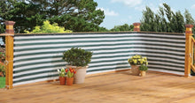Load image into Gallery viewer, Stylish Outdoor Privacy Screen – Balcony, Deck or Patio Fence Privacy Screen