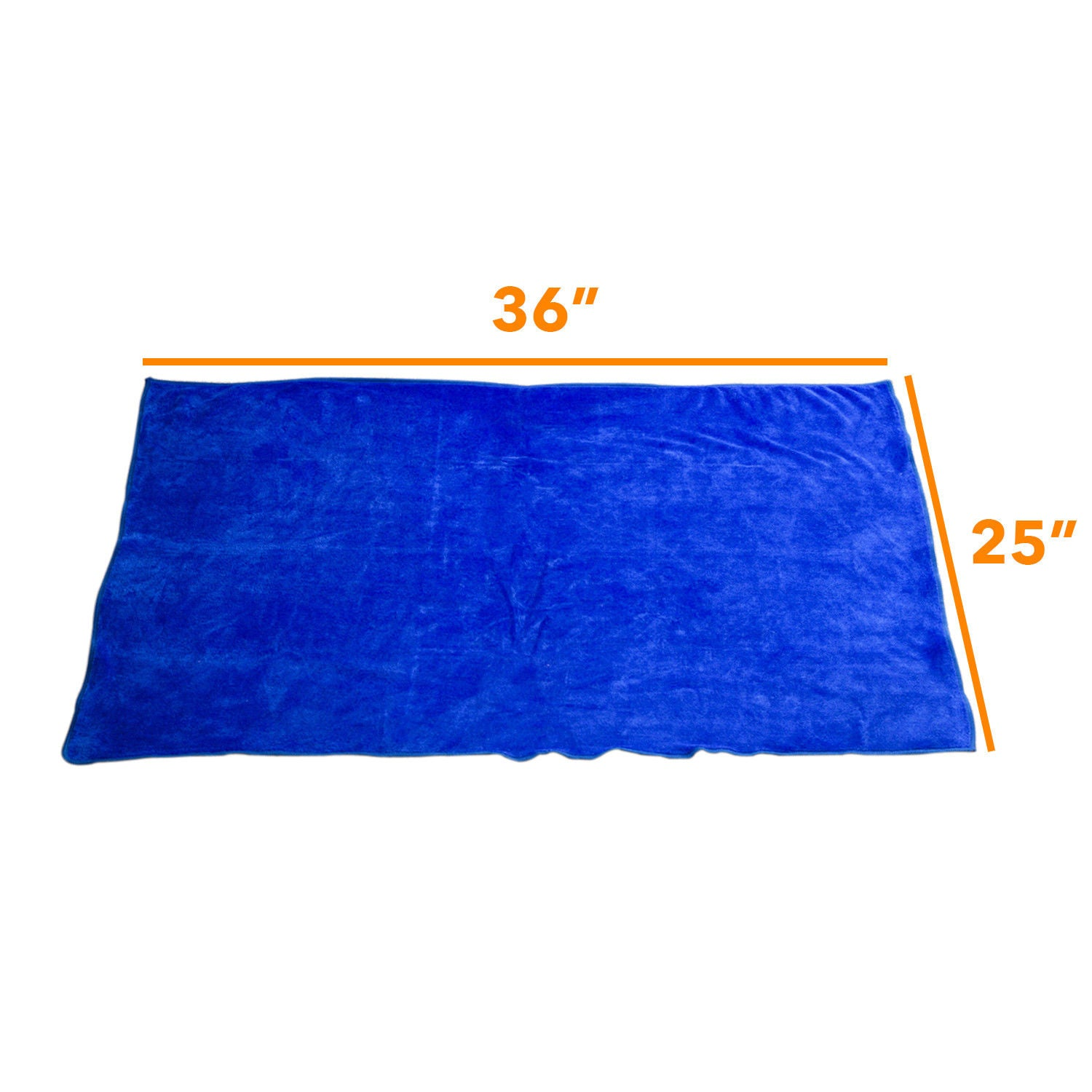Large Extra Soft Microfiber Cleaning Cloth - No Scratch Car Polishing Towel