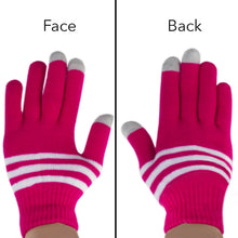 Load image into Gallery viewer, 6 Pack Knit Touch Screen Texting Gloves - Winter Texting Active for Smartphone