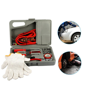 Roadside Emergency Assistance Toolkit - 31 Piece Car Repair Tool Kit