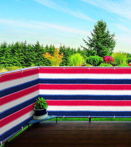 Stylish Outdoor Privacy Screen – Balcony, Deck or Patio Fence Privacy Screen