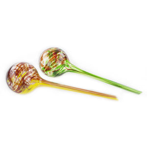 Aqua Watering Globes Plant Watering Glass Bulbs Plant Watering Globe Kit 2 Pack