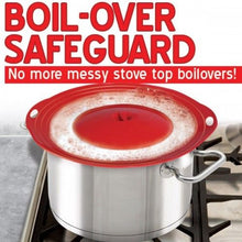 Load image into Gallery viewer, Boil Over Safeguard - Stovetop or Microwave Spill Stopper