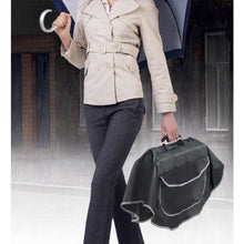 Load image into Gallery viewer, Durable Nylon Handbag Purse Tote Poncho Built-in Umbrella Cell Phone Pocket