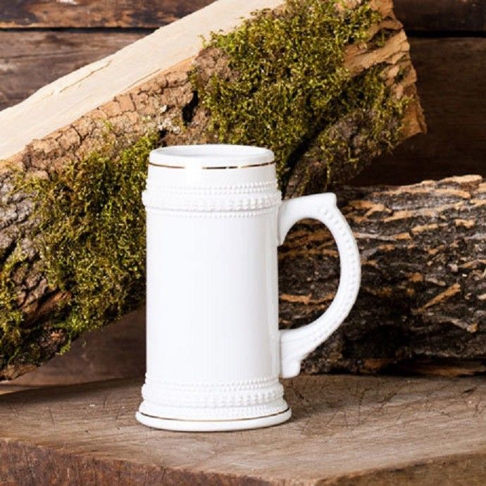 Ceramic 18 Oz. Stein Pub Beer Mug - Ceramic Tankard Beer Glass Mugs
