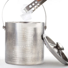 Load image into Gallery viewer, Premium Quality Stainless Steel Ice Bucket With Tong - Reptile
