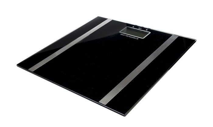 Digital Personal Body Weight Glass Scale Body Water Fat Scale W/ 10 User Memory