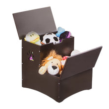 Load image into Gallery viewer, Wooden Pet Dog Steps With Storage - Wood Pet Step With Storage