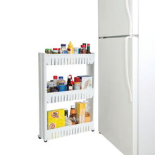 Load image into Gallery viewer, Rolling Storage Cart - Pull Out Pantry Cabinet - Slide Out Storage Shelf