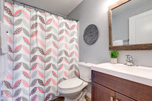 Load image into Gallery viewer, Shower Curtain & Mat Bathroom Set - Non Slip Bath Rug & Curtain & Hook Sets
