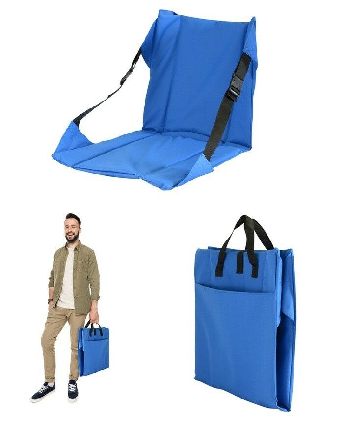 Portable Wide Stadium Seat - Lightweight Folding Stadium Chair