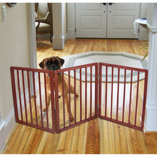 Load image into Gallery viewer, Extra Wide Pet Gate - Freestanding Dog Gate - Indoor Pet Fence