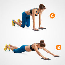 Load image into Gallery viewer, 2 Set Exercise Sliding Workout Pads - 2 Set Gliding Fitness Disc
