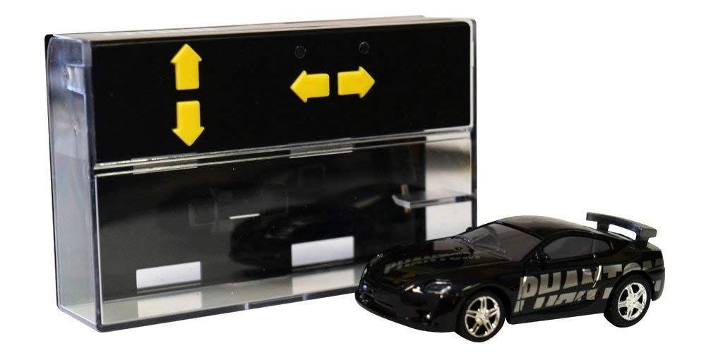 RC Pocket Racer Remote Controlled Micro Race Car Vehicle & Road As Seen On TV- 2 Pack