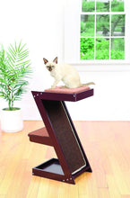 Load image into Gallery viewer, Wooden Cat Scratcher & Cat Perch