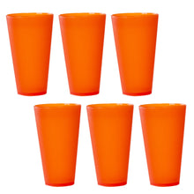 Load image into Gallery viewer, 6 Pack Green Reusable Party Cups - Cute Picnic Drinkware