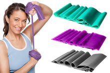 Load image into Gallery viewer, 3 Pc Toning Resistance Bands - Yoga & Pilates Stretch Exercise Bands