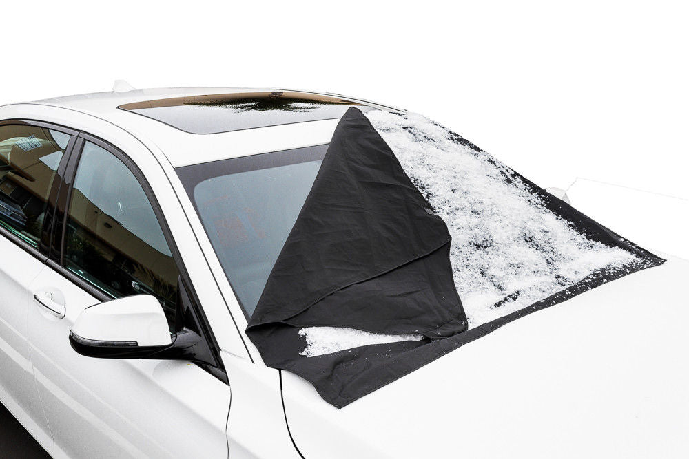 "Magnetic Windshield Snow Cover - Protective Car Snow Cover 56"" x 45"""
