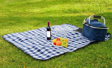 "Load image into Gallery viewer, Waterproof Picnic Blanket – 50"" x 60"" Large Beach Blanket Or Outdoor Picnic Mat"