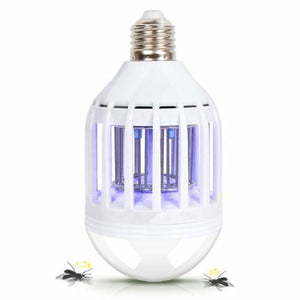 2 in 1 Bright Led Light Bulb Mosquito Bug Insect Zapper Killer - Led Zapplight