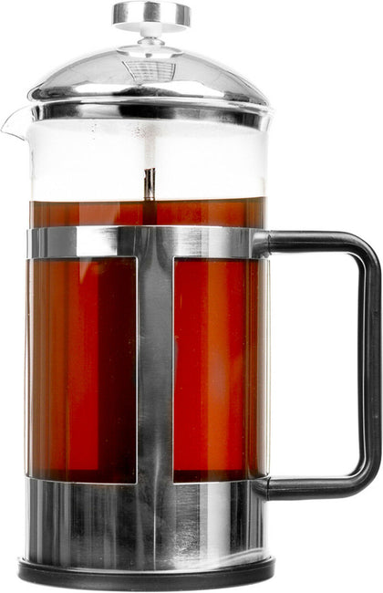 French Press 34 Oz Coffee Maker & Tea Maker With Stainless Steel Frame & Lid