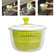 Load image into Gallery viewer, Premium Salad Spinner Bowl With Locking Lid