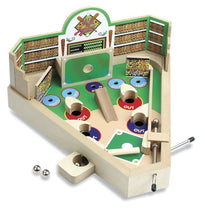 Load image into Gallery viewer, Classic Wooden Tabletop Pinball Machine - Wood Baseball Game
