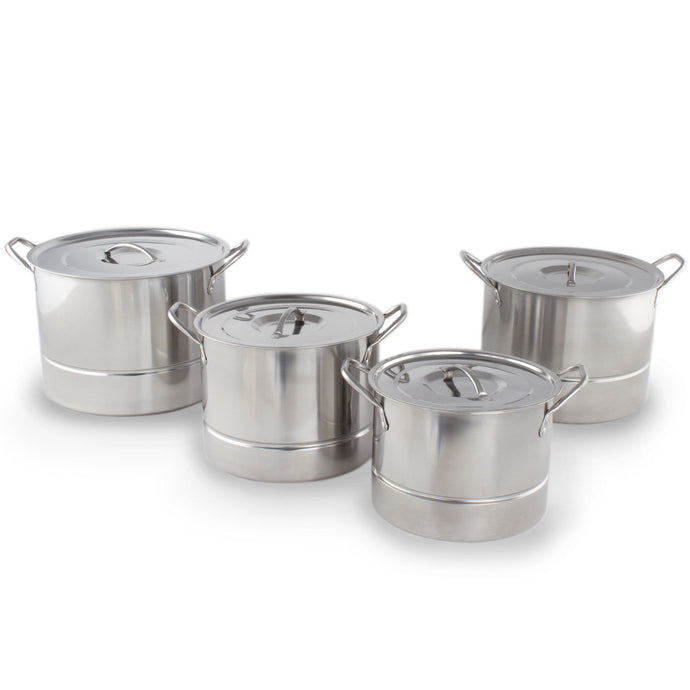 High Quality Stainless Steel 12 pcs. Steamer / Steam Pot Set