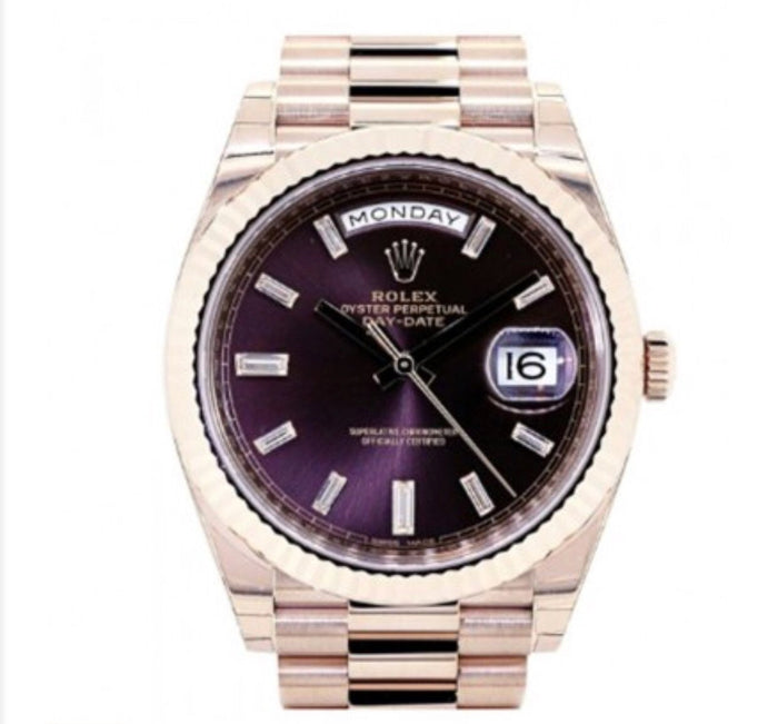 Rolex Day Date Purple (FREE BOX INCLUDED)
