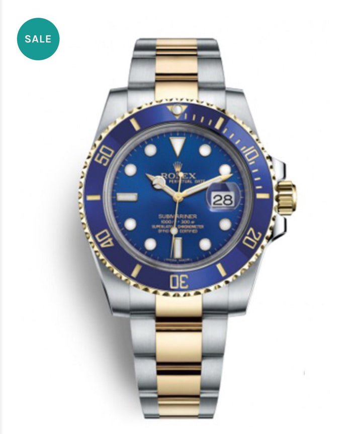 Luxury Rolex Submariner Blue&Yellow (FREE BOX INCLUDED)
