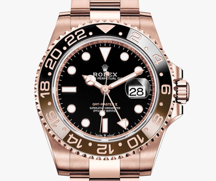 Luxury Rolex GMT-MASTER II (WITH THE BOX)
