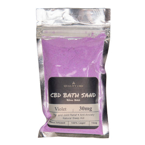 Quality CBD Bath Sand - 30mg CBD