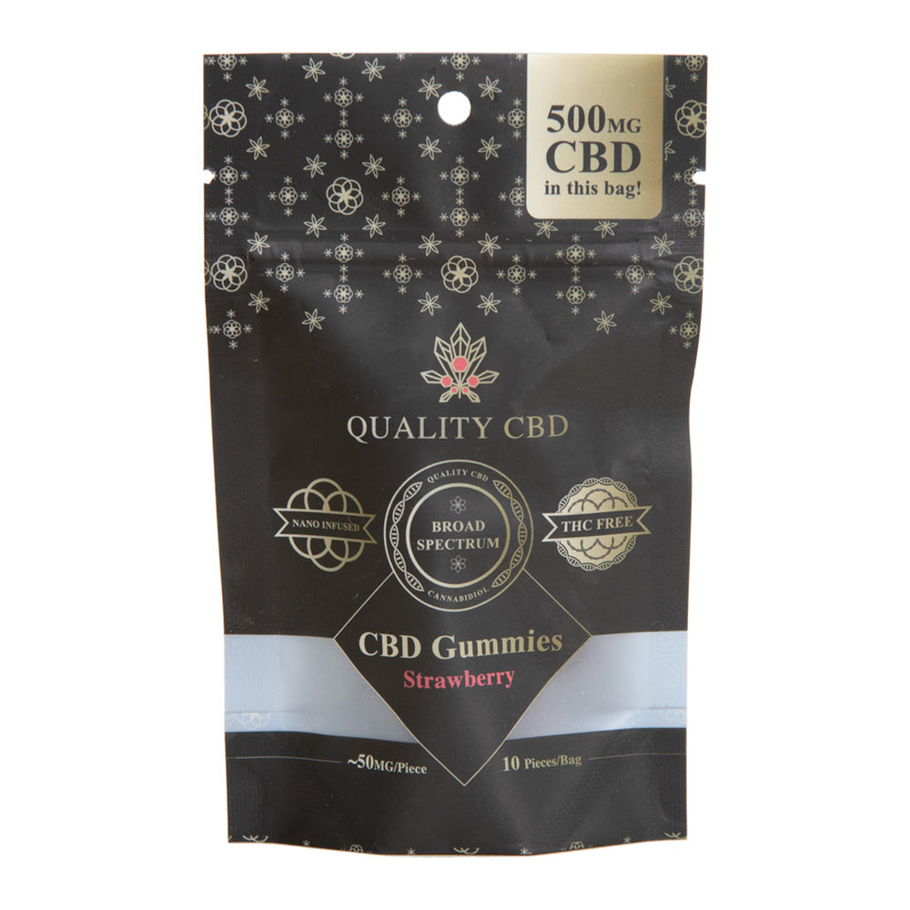 Quality CBD Gummy - 500mg CBD Broad Spectrum