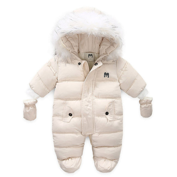 Stylish Baby Hooded Jumpsuit