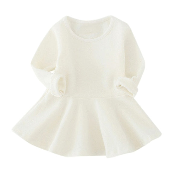 Baby Girl Long-Sleeved Princess Dress