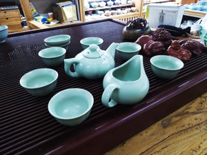 Blue Lake Tea Set.