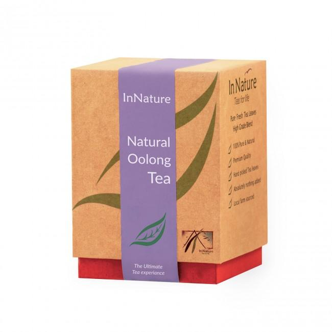 Natural Oolong Tea.