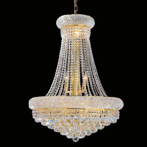 Empire Chandelier (Gold or Silver)