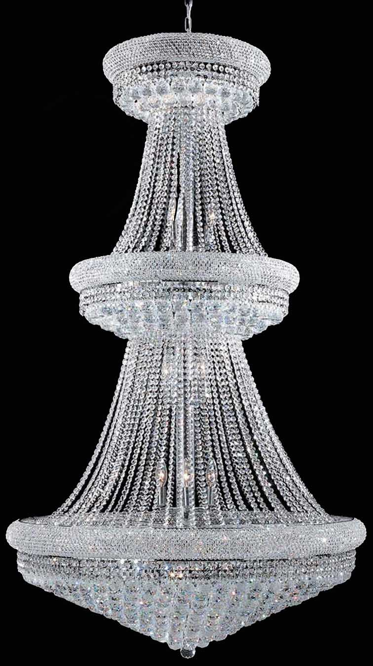 Empire Large Chandelier (Gold or Silver)