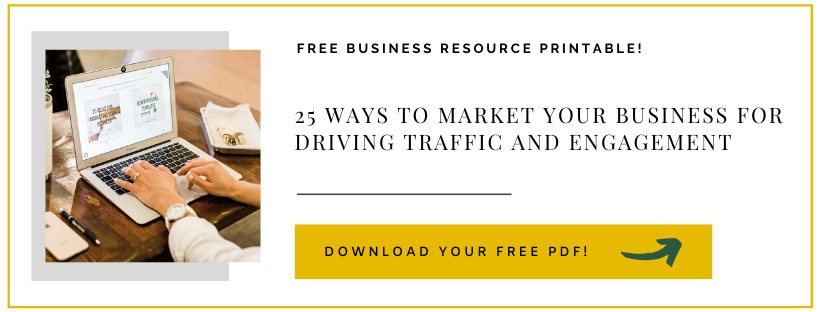 25 ways to market your business for driving traffic and engagement