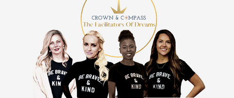 Female Mastermind Member, Julie Lokun, and her Crown and Compass Coaching team